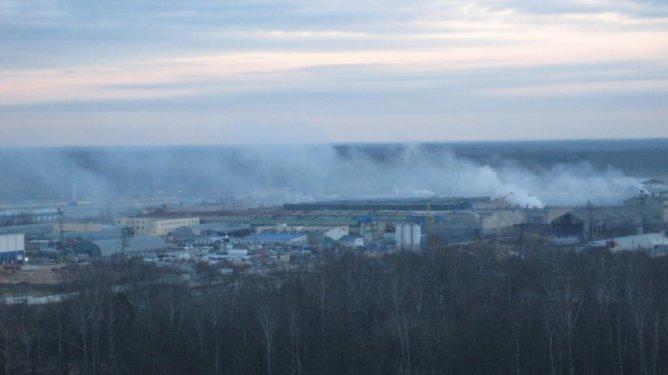 Обнинская промзона: окрестности Обнинского стеклозавода